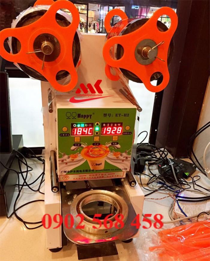 Máy dán miệng ly trà sữa tự động ET- H2