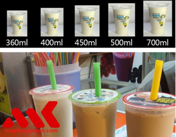 Máy dán miệng ly trà sữa ET-H1